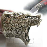 *GRIZZLY* Finger Guard of German Silver for Custom Knife Making Handle Bolster