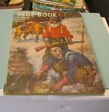 January 1949 Blue Book Pulp Magazine Adventure Stories Devil in Lucinda Jones