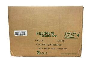 Fujifilm 10 In. x 295 Ft. Paper Crystal Archive Type II Lustre