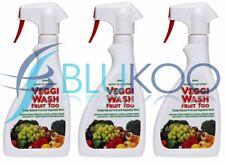 Veggi-Wash Ready to Use Spray - 600ml (Pack of 3)