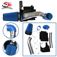 """4"""" Cold Air Intake Pipe/Kit + Heat Shield For 99-06 GMC/Chevy V8 4.8L/5.3L/6.0L"""