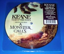 """KEANE, Tear Up This Town, from A Monster Calls , 7"""" Vinyl , Picture Disc, RSD"""