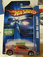 Hot Wheels Acura HSC Concept Instant Win Card