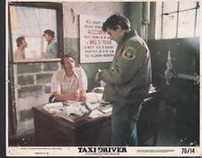 Robert De Niro Peter Boyle in Taxi Driver 1976 vintage movie photo 33487
