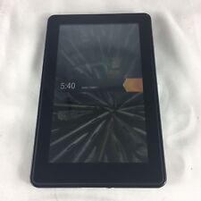 Amazon Kindle Fire/1st Gen/D01EAOAO/Wi-Fi/7-Inch/8GB/eBook Reader Tablet/Black