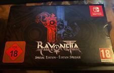Bayonetta Special Edition Nintendo Switch (No game)
