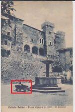 COLLALTO SABINO RIETI BAMBINO IN AUTO A PEDALI 1930 BELLA !