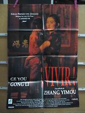 A3306 ¡Vivir! Zhang Yimou Gong Li, Ge You, Jiang Wu, Niu Ben, Guo Tao, Ni Dahong