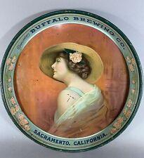 Antique Buffalo Brewing Sacramento Beer Tray