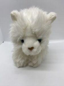 "White Toys R Us Plush Kitty Kitten Long Haired Cat Persian 10"" Geoffrey 2011"