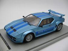 1/18 scale Tecnomodel DeTomaso Pantera GT5 metal light blue 1982 - TM18-105D