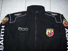 NEU ABARTH Fiat 500  Fan- Jacke schwarz jacket veste giacca jakka