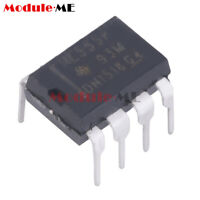 50PCS DIP-8 NE555P NE555 SINGLE BIPOLAR TIMERS IC
