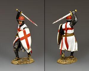 KING & COUNTRY MEDIEVAL KNIGHTS & SARACENS MK190 CRUSADER SERGEANT AT ARMS MIB