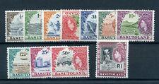 Basutoland 1961-3 defin set mint. 2½c mlh others MNH