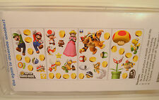 48 Piece Super Mario Brothers Removable Wall & Window Room Decor Sticker Set