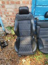 Audi A3 8L 96-03  Half Leather seats interior Black 3 Door Recaro Sport mk4 golf