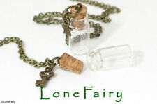 Glass Steampunk Bronze Costume Necklaces & Pendants