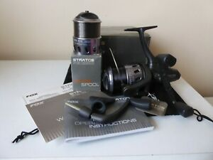 Fox Stratos 10000 baitrunner fishing reel