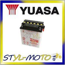 YB14-A2 BATTERIA ORIGINALE YUASA CON ACIDO HONDA XL 600 LM 1985
