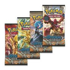 Pokemon XY Steam Siege 4 Booster Packs - Brand New And Sealed