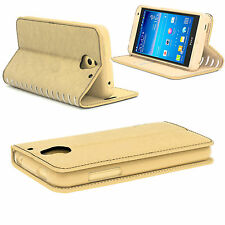 New Genuine Smooth Luxury Leather Stand Wallet Card Flip Case Cover for iPhone