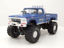 Ford F-250 Pick Up Bigfoot #1 Original Monster Truck 1974 blau Modellauto 1:43