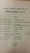 Cramer's Modern Album Series: Tenor Songs Volume 2: Music Score (A5)