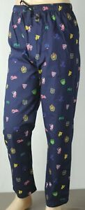 POLO Ralph Lauren Navy Pajamas Lounge Sleep Pants Crest P-Wing NWT