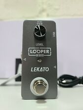 More details for lekato lp-10 guitar looper pedal