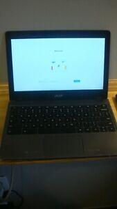"Acer Chromebook C720P 11.6"" 2 GB RAM 32GB SSD read"