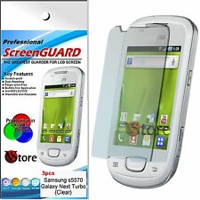 3 Pellicole Per Samsung S5570 GALAXY NEXT TURBO Pellicola Salva Schermo Display