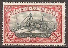 1908 German colonies East Africa 3 Rupien issue mint**, Michel # 39 PF  I, $ 527
