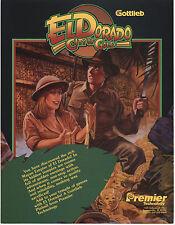 1984 GOTTLIEB EL DORADO CITY OF GOLD PINBALL FLYER