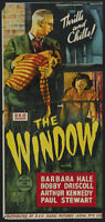 The window Barbara Hale vintage Horror movie poster