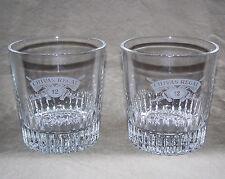 Vintage Bar Glass - Chivas Regal Scotch / Cut Glass / SET of TWO / 8 Oz (0.24 L)
