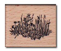 Heindesign Stempel Motivstempel Embossingstempel Blumenwiese Blumen Frühling