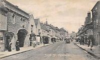 POSTCARD  SUSSEX   CHICHESTER    South  Street