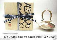 o5977,Japanese,SHIGARAKI, HIROYUKI YAMADA, Choushi type SAKE POT.