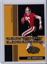2006 DONRUSS THREADS CENTURY LEGENDS JOE MONTANA CARD # CL-4