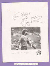 Shep Messing Soccer Goalkeeper NY Cosmos Autograph w/ COA 8x10 Signed B&W