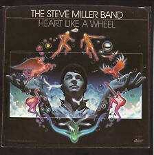 "Steve Miller Band--""Heart Like A Wheel""--1981 Picture Sleeve"