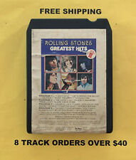 Rolling Stones Greatest Hits 8 track tape tested Volume II
