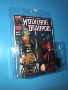 Wolverine Vs Deadpool Custom Packaged Mini-Figure Pop Culture Marvel Avengers