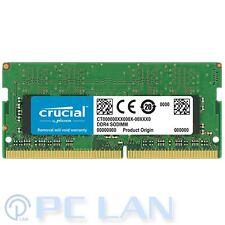 CRUCIAL 16GB DDR4 2400Mhz PC4-19200 1.2V SODIMM Notebook RAM CT16G4SFD824A