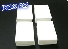 1000 x  LINT FREE NAIL WIPES - COTTON PADS - NAIL POLISH REMOVER - ACRYLIC