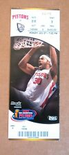 Detroit Pistons Suite Ticket Stub picturing Rasheed Wallace Mon Dec 27 !