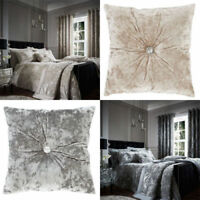 Crushed Velvet Duvet Cover or Accessories by Catherine Lansfield