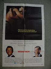 Midas Run Richard Crenna Anne Heywood 1969 27X 41 originial movie poster #69/188