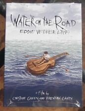 WATER ON THE ROAD  EDDIE VEDDER OF PEARL JAM LIVE NEW/SEALED DVD